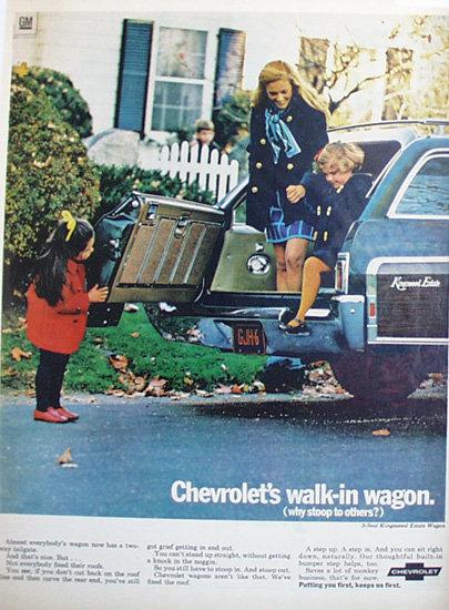 Chevrolet Estate Wagon 1969 Ad.