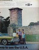 Chevrolet Caprice Coupe 1972 Ad