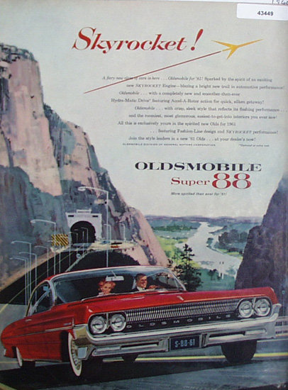 Oldsmobile Super 88 Car 1960 Ad