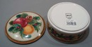Mikasa Holiday Fruit covered Jar