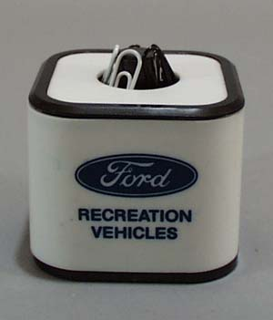 Ford Recreational Vehicle paper clip 1983 holder