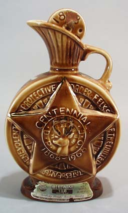 1968 Centennial Bottle, Elks Commemorative bottle