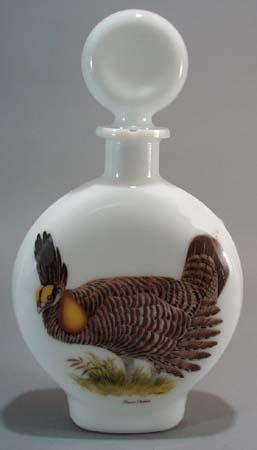 1969 Field Birds Prairie Chicken by A Singer liquor bottle