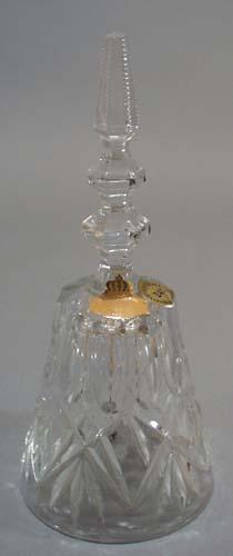 Bleikristall 24% lead crystal bell