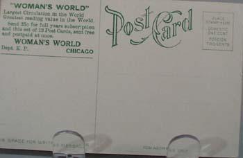 1909 PC Woman's World Ad