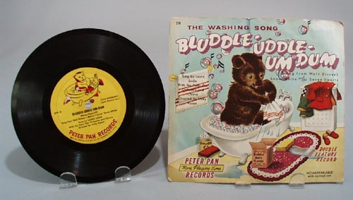 1954 Peter Pan record Bluddle Uddle Um Dum