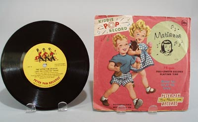 Peter Pan record Marianne sung by Terry Gleason