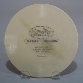Spear Record, #109 We wish you a Merry Christmas