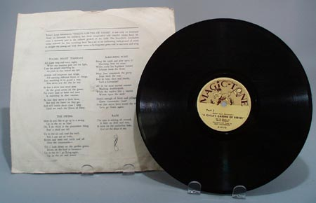 Magic tone Robert Louis Stevensons record,