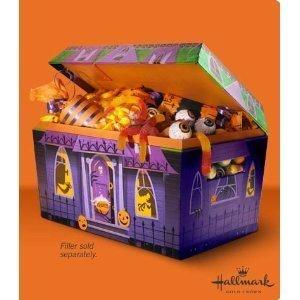 Hallmark Halloween Haunted House Candy Presenter Box w/ SOUND! New