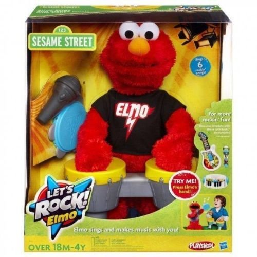 ELMO Let's Rock Sesame Street Interactive Toy