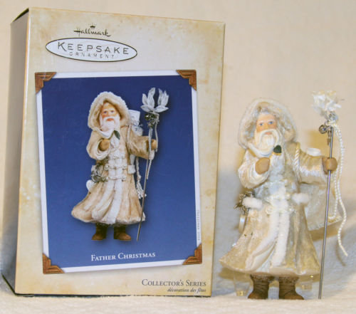 New Hallmark FATHER CHRISTMAS #1 First in Series 2004 Ornament