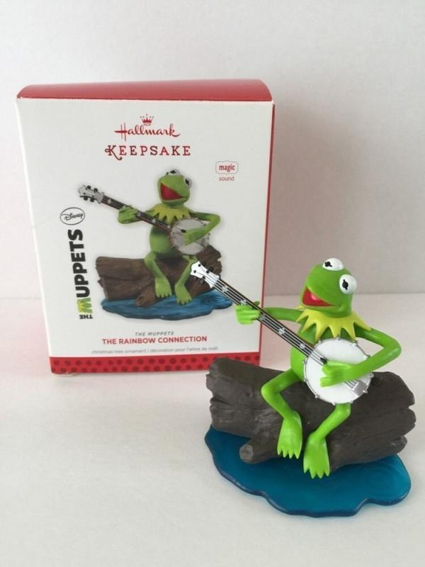 New! Hallmark THE RAINBOW CONNECTION~Song~2013 Ornament~Muppets~Kermit the Frog