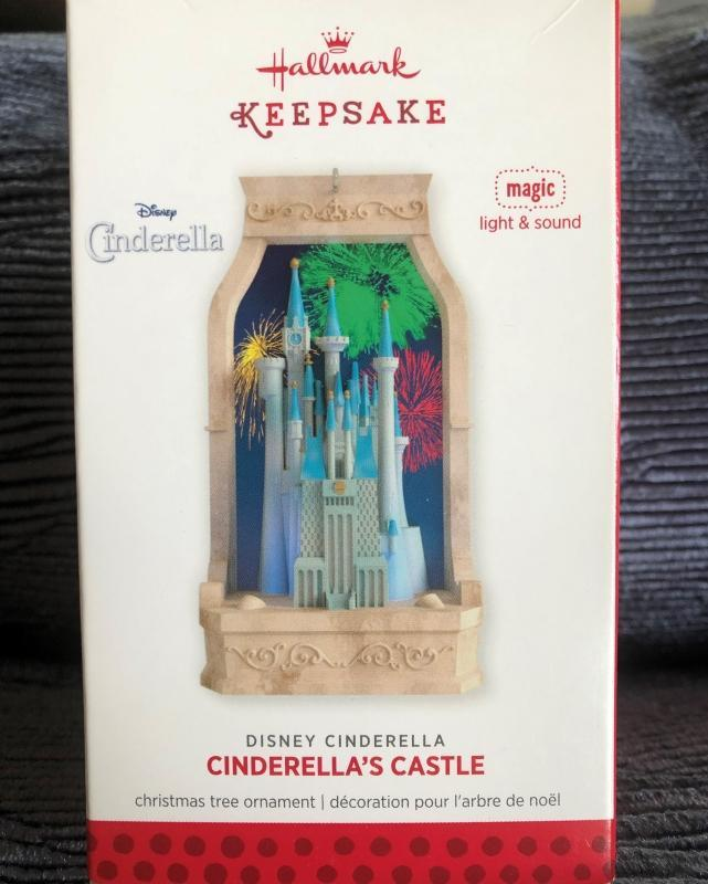 New! Hallmark CINDERELLA's CASTLE 2013 Christmas Ornament~Disney~Light & Sound