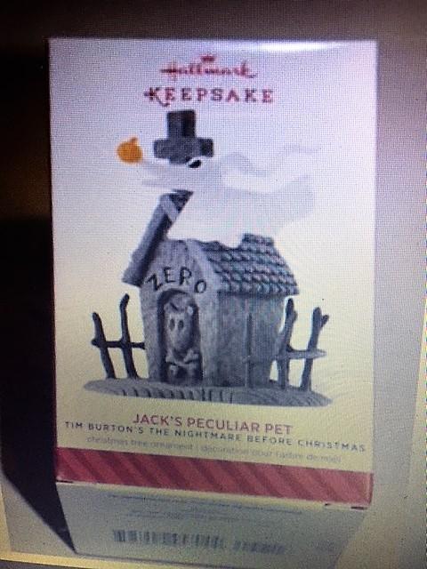 Hallmark 2014 JACK'S PECULIAR PET