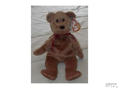 New Face BrownTEDDY Ty Beanie Baby Bear