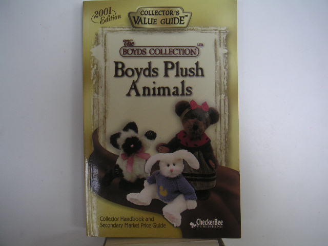 BOYDS PLUSH ANIMALS Collector's Value Guide 2001