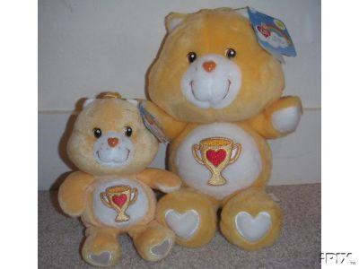 new! CHAMP BEAR Care Bears 20th Anniversary Edition 8