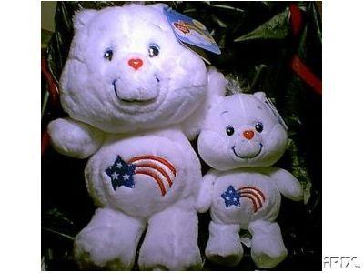 New! AMERICA CARES BEAR Care Bears 20th Anniversary Edition 8