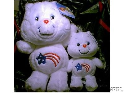 New! AMERICA CARES BEAR Care Bears 20th Anniversary Edition 13