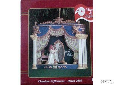 PHANTOM OF THE OPERA Musical Carlton Ornament #2