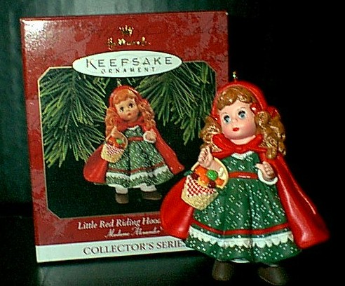 Little Red Riding Hood Hallmark 1997 Ornament Madame Alexander