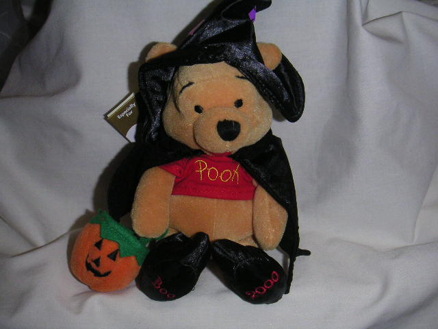 Surprising Winnie The Pooh Halloween Witch Bean Bag Disney Ncnpc Chair Design For Home Ncnpcorg