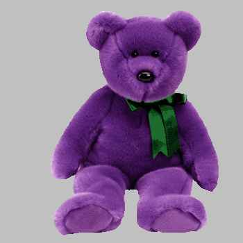 Ty EMPLOYEE Beanie Buddy Bear Plush