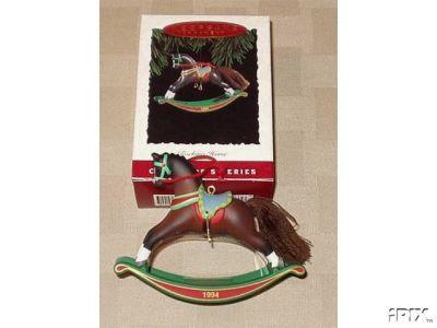 Hallmark ROCKING HORSE 1994 Ornament #14 in Series