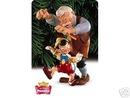 Hallmark 1999 Disney's PINOCCHIO & GEPPETTO Keepsake Ornament