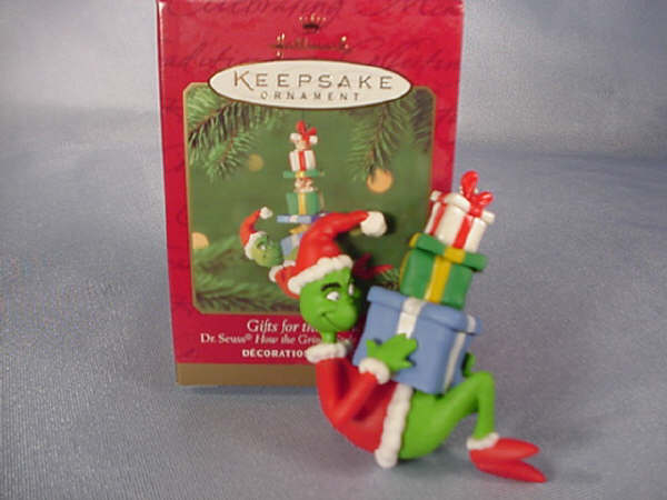 Dr.Seuss GIFTS for the GRINCH Hallmark 2000 Ornament