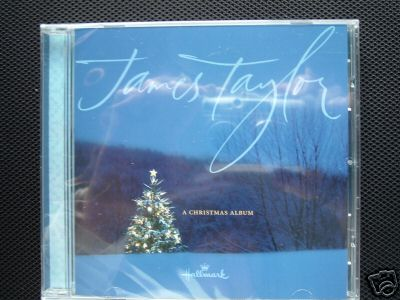 New! JAMES TAYLOR CHRISTMAS Music CD~Sealed~11 Songs Album~Hallmark
