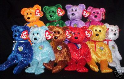 379c4eb15ce  89.00. Quantity available  2. Ty DECADE 10th Anniversary Beanie Babies