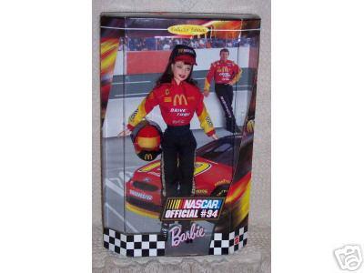 1999 McDonald's NASCAR BARBIE Doll Official #94