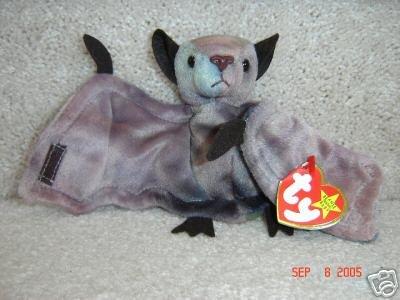 TY Batty Ty-dye Bat Halloween Beanie Baby