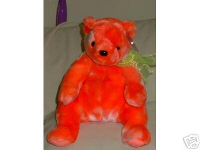 Rare Ty TANGERINE soft & cuddly PLUSH Beanie Buddy Halloween