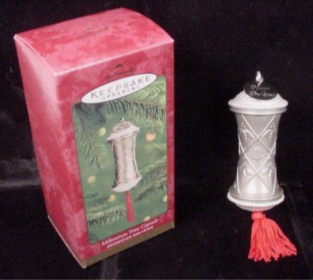 Millennium Time Capsule Hallmark Keepsake Ornament 2000