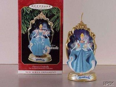 1997 Disney CINDERELLA  #1 Hallmark Christmas Ornament 1st in Series