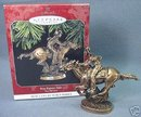 Hallmark 1998 Pony Express Rider The Old West 1st #1