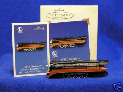 LIONEL 4449 Daylight Steam Locomotive 2003 Hallmark Ornament