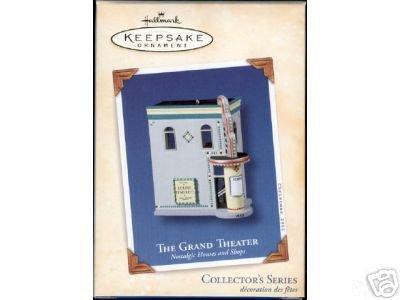 Grand Theater~Nostalgic Houses & Shops #20 Hallmark Ornament 2003