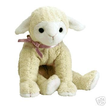 Ty Fleecie Beanie Baby Lamb for Easter or New Baby