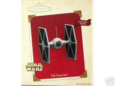 Star Wars TIE FIGHTER Hallmark Ornament w/ Sound 2003