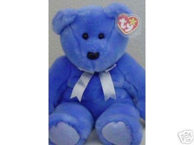 Ty CLUBBY II 2 Beanie Bear Buddy Plush