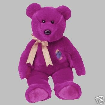 Ty MILLENNIUM Beanie Bear Buddy Plush - New