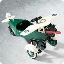 1935 Steelcraft Murray Airplane Hallmark Kiddie Car Classics~Pedal Cars