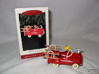 Murray Fire Truck~1995 Hallmark Pedal Car Ornament~#2 Kiddie car Classics