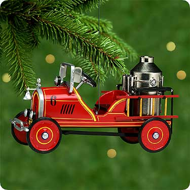 1924 Toledo Fire Engine #6 Hallmark Ornament 2000
