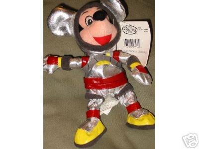 SPACEMAN Mickey Mouse DISNEY Bean Bag Plush Astronaut