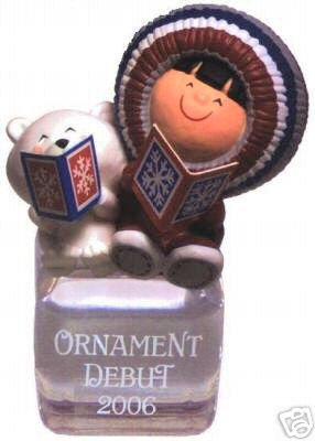 Repaint~Colorway FROSTY FRIENDS 2006 Hallmark Ornament